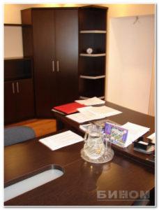 мебель в кабинет руководителя шкаф офисный